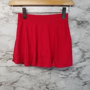 Childrens Place Girls Skirt Skort Sz 7/8 New Red